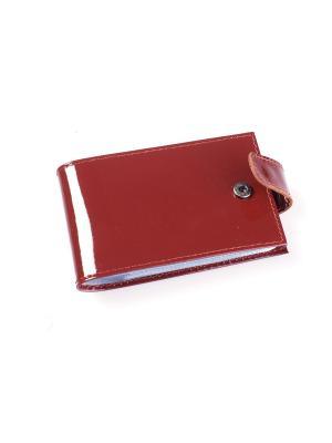 Визитница карманная BEFLER. Цвет: светло-коричневый