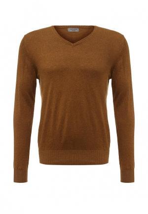 Пуловер Colins Colin's. Цвет: коричневый