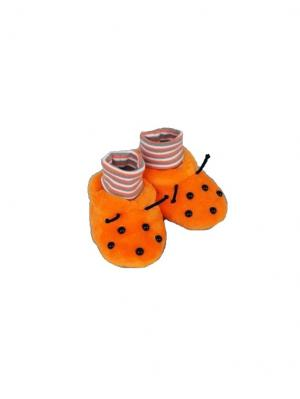 Пинетки БАСТЕТ. Цвет: оранжевый, кремовый