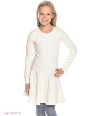 Платье NAME IT. Цвет: молочный