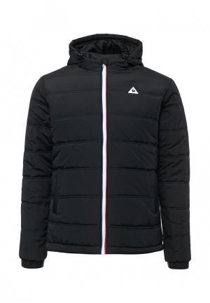 Куртка утепленная Le Coq Sportif. Цвет: черный