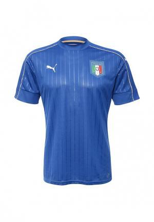 Футболка Puma. Цвет: синий