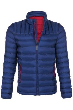Куртка GIORGIO DI MARE. Цвет: синий