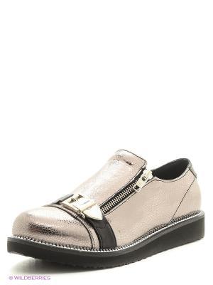 Ботинки Donna Ricco. Цвет: золотистый