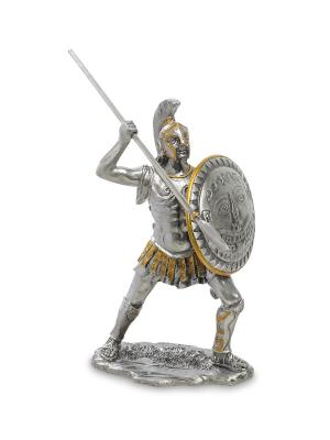 Статуэтка Спартанец Veronese. Цвет: серебристый, золотистый