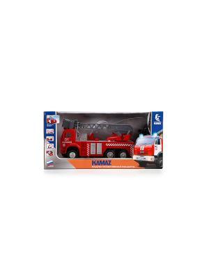Пожарная Машина Технопарк камаз радиоуправляемый. Цвет: красный