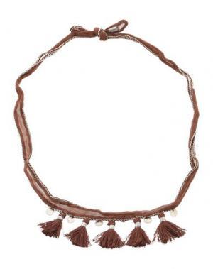 Ожерелье CHAN LUU. Цвет: какао