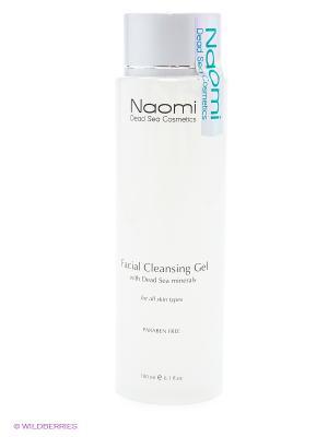 Очищающий гель для лица всех типов кожи Naomi Dead Sea Cosmetics. Цвет: белый