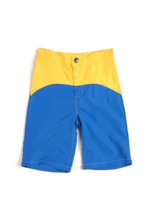 Шорты Appaman. Цвет: желтый, голубой