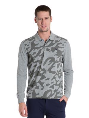 Лонгсливы U.S. Polo Assn.. Цвет: серый