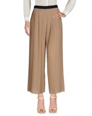 Повседневные брюки BEATRICE. Цвет: хаки