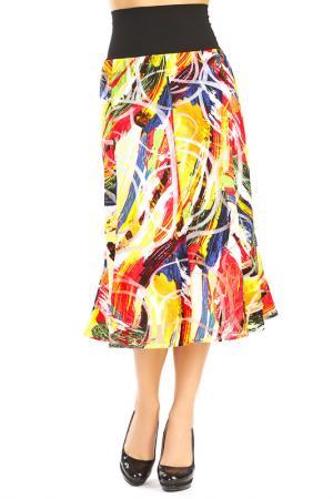 Skirt Doris Streich. Цвет: multicolor