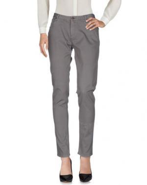 Повседневные брюки WOOLRICH. Цвет: свинцово-серый