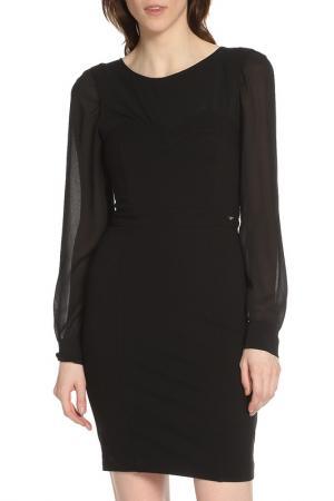 Облегающее платье с молнией Liu Jo. Цвет: черный