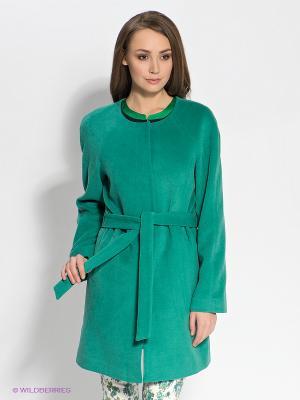 Пальто TOM FARR. Цвет: зеленый