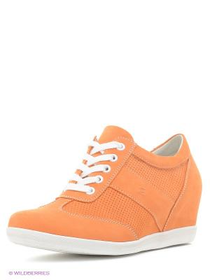 Сникеры Makfly. Цвет: оранжевый