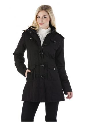 Куртка-парка CHEER. Цвет: темно-коричневый, черный