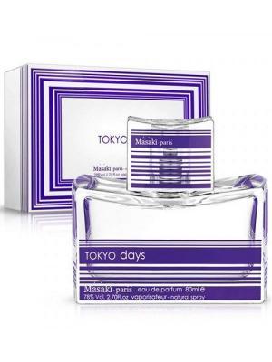 Tokyo Days, Парфюмерная вода, 80 мл MASAKI MATSUSHIMA. Цвет: прозрачный, фиолетовый