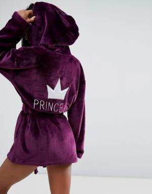 Boux Avenue Укороченный халат Princess. Цвет: розовый
