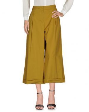 Повседневные брюки .TESSA. Цвет: кислотно-зеленый