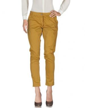 Повседневные брюки MAGILLA. Цвет: верблюжий