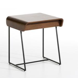 Столик прикроватный с 1 ящиком  Bardi, дизайн Э.. Галлины AM.PM.. Цвет: ореховый/черные ножки