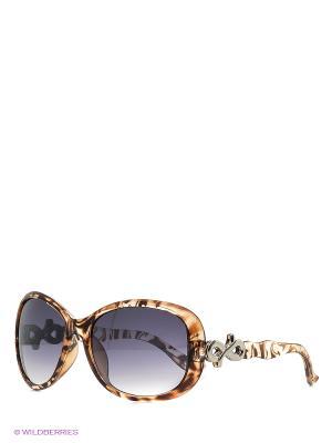 Солнцезащитные очки Vittorio Richi. Цвет: коричневый, светло-коричневый, персиковый