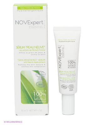 Восстанавливающая сыворотка для лица Обновление кожи, 30 мл. Novexpert. Цвет: белый