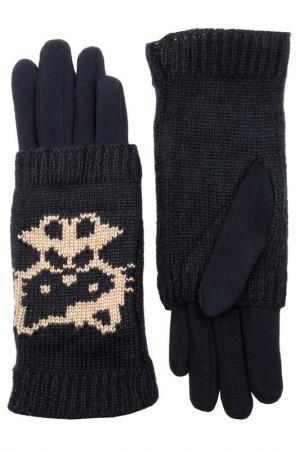 Перчатки Stella. Цвет: темно-синий