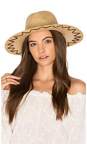 Шляпа федора plains Brixton. Цвет: цвет загара