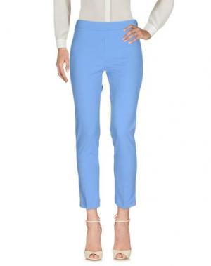 Повседневные брюки KARTIKA. Цвет: пастельно-синий