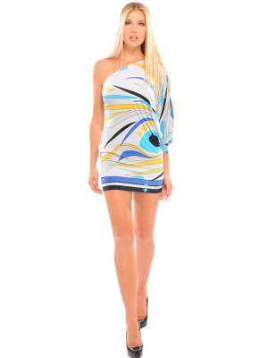 Платье-туника Analili. Цвет: светло-голубой