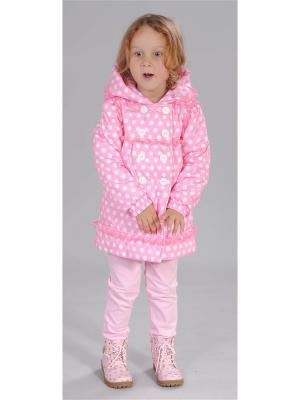 Пальто Милашка Сьюзи. Цвет: розовый