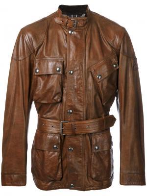 Куртка Panther Belstaff. Цвет: коричневый