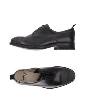 Обувь на шнурках SMITH'S AMERICAN. Цвет: свинцово-серый
