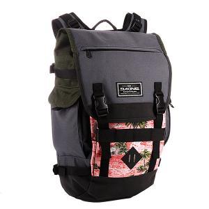 Рюкзак школьный  Vault Aloha Dakine. Цвет: серый,розовый