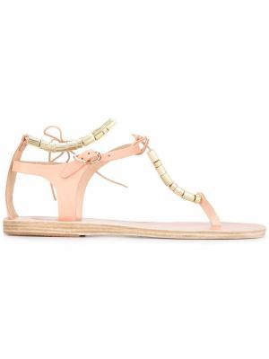 Сандалии Chryss Ancient Greek Sandals. Цвет: телесный