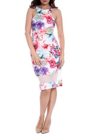 Платье Moda di Chiara. Цвет: floral print