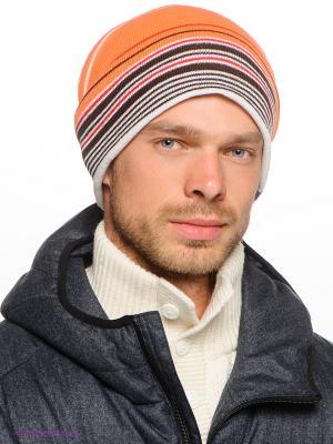 Шапка BRUNOTTI. Цвет: оранжевый, белый, черный, красный