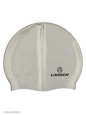 Шапочка плавательная SC12 Larsen. Цвет: серый