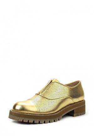 Ботинки Vicini Tapeet. Цвет: золотой