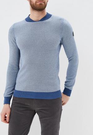 Пуловер Hopenlife. Цвет: голубой