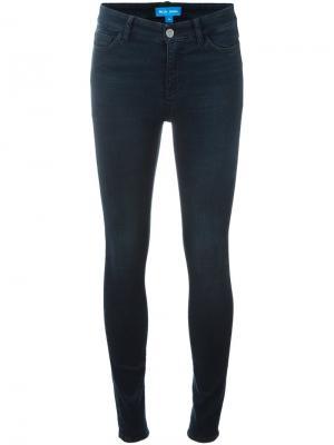 Джинсы кроя скинни  Bodycon Mih Jeans. Цвет: синий