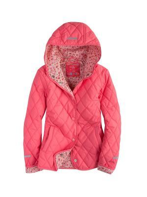Куртка стеганая Endo. Цвет: розовый
