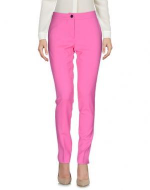 Повседневные брюки ULTRA'CHIC. Цвет: розовый