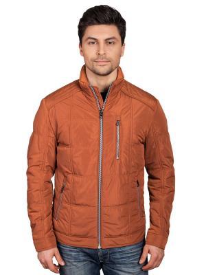 Куртка TAIS. Цвет: светло-оранжевый