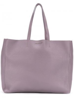 Shopping tote bag Orciani. Цвет: розовый и фиолетовый