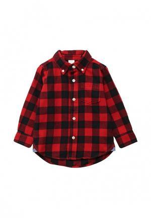 Рубашка Gap. Цвет: красный