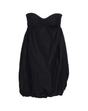 Короткое платье ADELE FADO. Цвет: черный