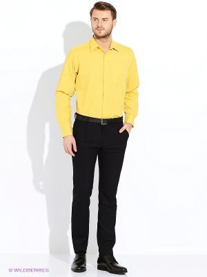 Сорочка LIVANSO. Цвет: горчичный